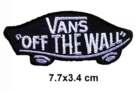 Vans off the Wall negro negro Cool Brands Patch Streetwear Vintage ...
