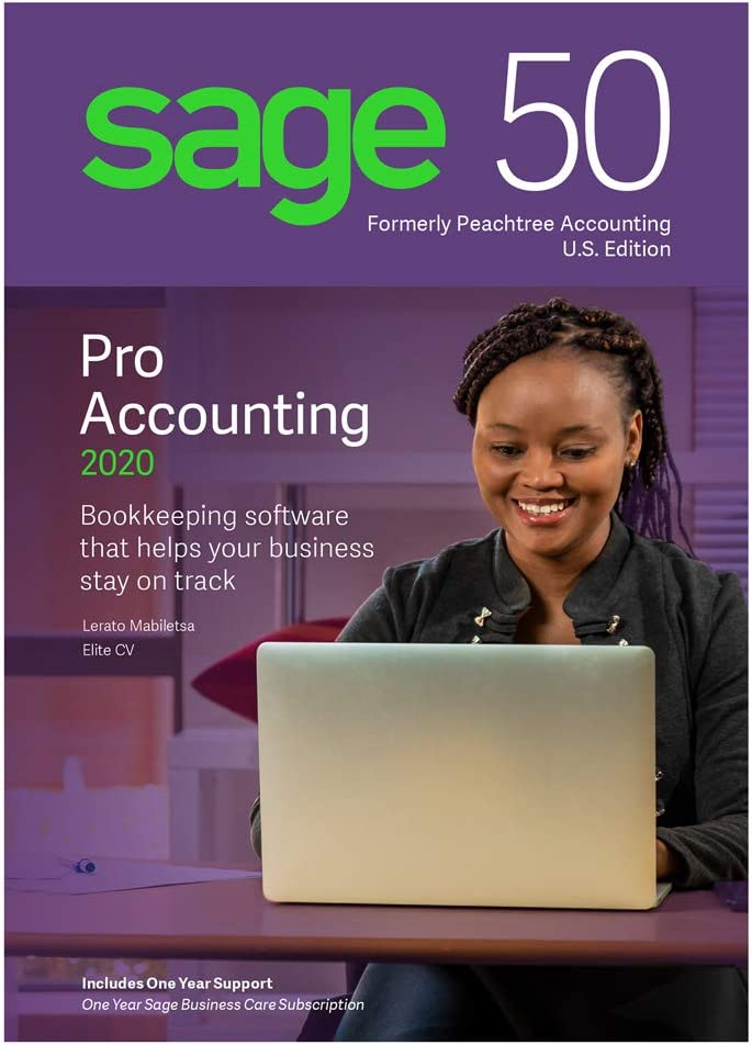 Sage Software Sage 50 Pro Accounting 2020 U.S