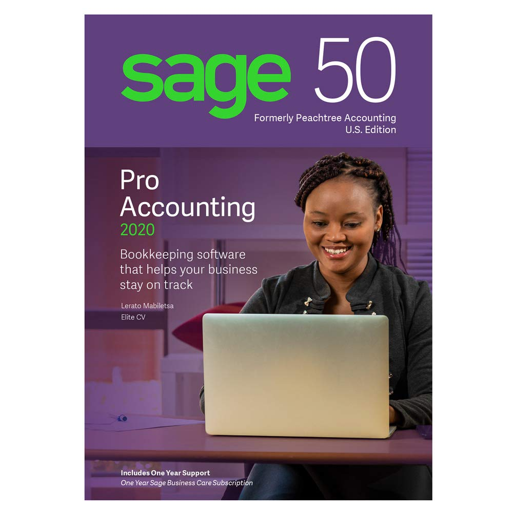 Sage Software Sage 50 Pro Accounting 2020 U.S by Sage Software