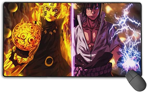 Thewart/_Eight Naruto Manga Anime Comic New Anti-Slip Mice Pad Mat Mouse Pad For Optical Laser Mouse
