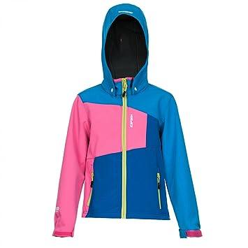 Jacke blau pink