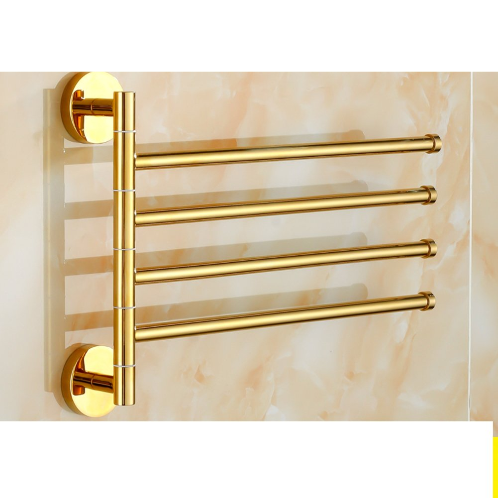 Brass Towel rack real heart activity/rotary-towel rod/Bathroom Bathroom Towel Bar-C new