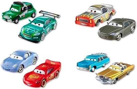 Mattel espa¥a, s.a. - Pack 2 coches cars new: Amazon.es: Juguetes y juegos