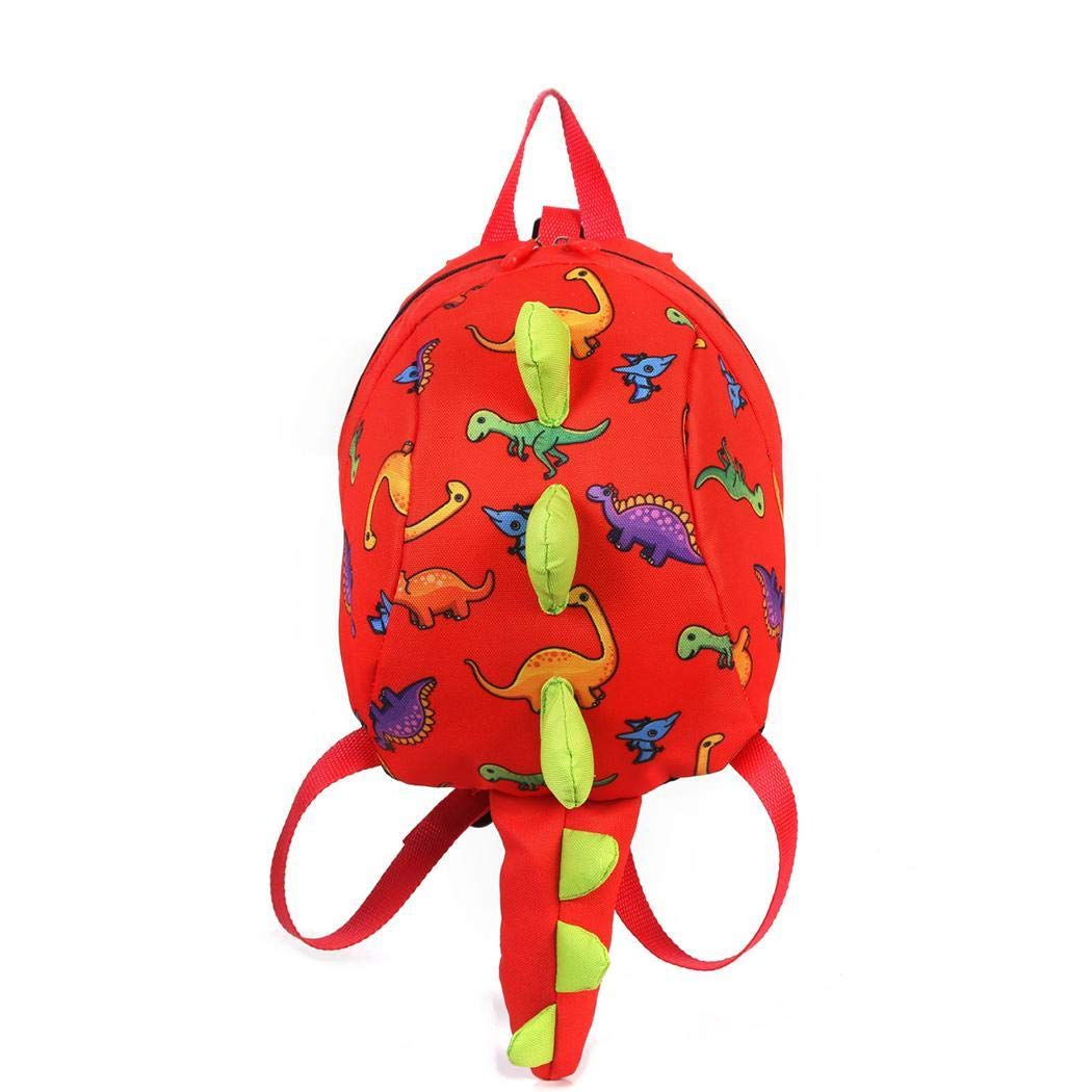 Toddler Kids Dinosaur Backpack With Anti-lost Safety Leash for Boys Girls 3-6 Year Old