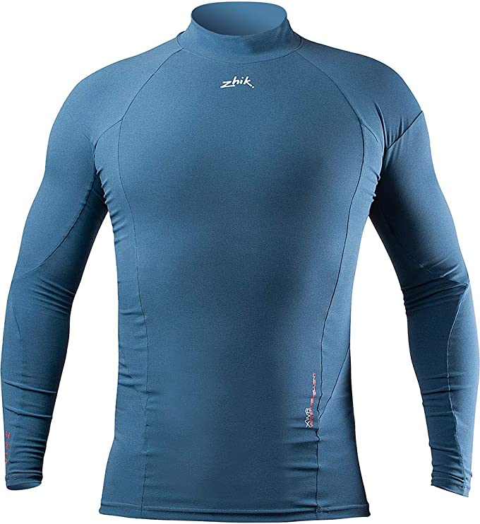 Easy Stretch Respirant Zhik Mens Pro T-Shirt /à Manches Longues Tee Top DTP0093 Deep Blue