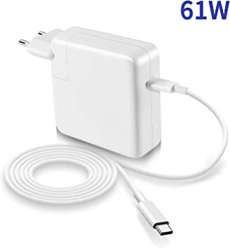 NETPER Compatible con Macbook Pro/Air Cargador 61W USB C de 13 ...