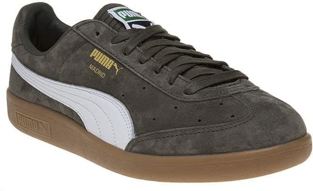 Puma Madrid Hombre Zapatillas Verde: Amazon.es: Zapatos y complementos