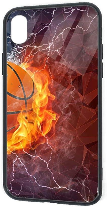 Amazon バスケットボールの壁紙 スマホケース Iphone Xrケース ガラ 強化ガラス Tpuバンパーケース ケー 全面クリア 耐衝撃規格 ウルトラ ハイブリッド ケース カバー 通販