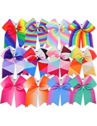 3 in 4.5in 6in Hair Bows For Girls Grosgrain Ribbon Large...