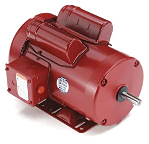 Leeson Farm-Duty Electric Motor - 1.5 HP, 1,725 RPM, 115/208-230 Volts, Single Phase, Model Number 110089.00