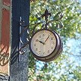 Altuna Smart Solar 5063000Clock–York Station Clock, 25x 28.5x 5cm, White