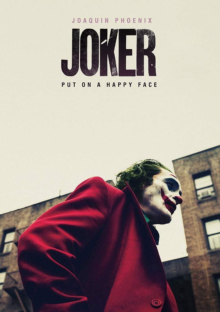 映画 JOKER ジョーカー ポスター 42x30cm 2019 ホアキン フェニックス ロバートデニーロ バットマン …