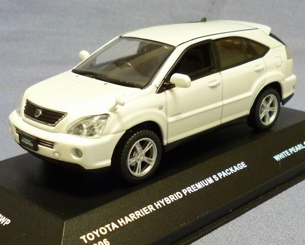 J-Collection DJC 1/43 トヨタ ハリアー HB Sパッケージ2006 (ホワイト) 完成品 B002YZ47EO