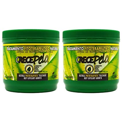 "BOE Crece Pelo Tratamiento Fitoterapetico Natural (Natural Phitoterapeutic Treatment) 16oz ""Pack of"