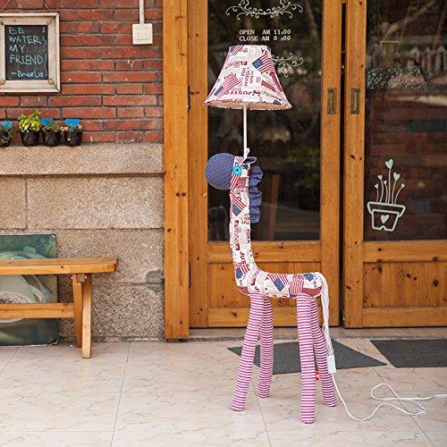Moderner Stil cartoon Kinderzimmer Gewebe Nachttischlampe Lampe Salon Stehleuchte