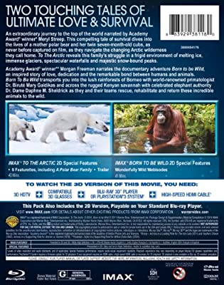 IMAX®: To the Arctic (2012) / IMAX®: Born to Be Wild (DBFE)(3D Blu-ray)