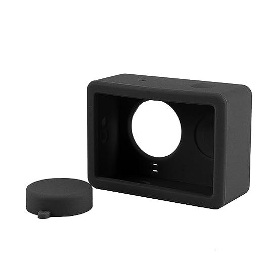 3 opinioni per Custodia in Silicone Case Cover per Xiaomi Xiaoyi YI Action Camera Nero