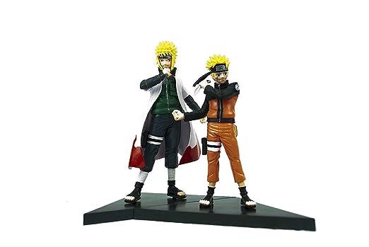 Naruto Anime Naruto y Minato figura Set: Amazon.es: Hogar