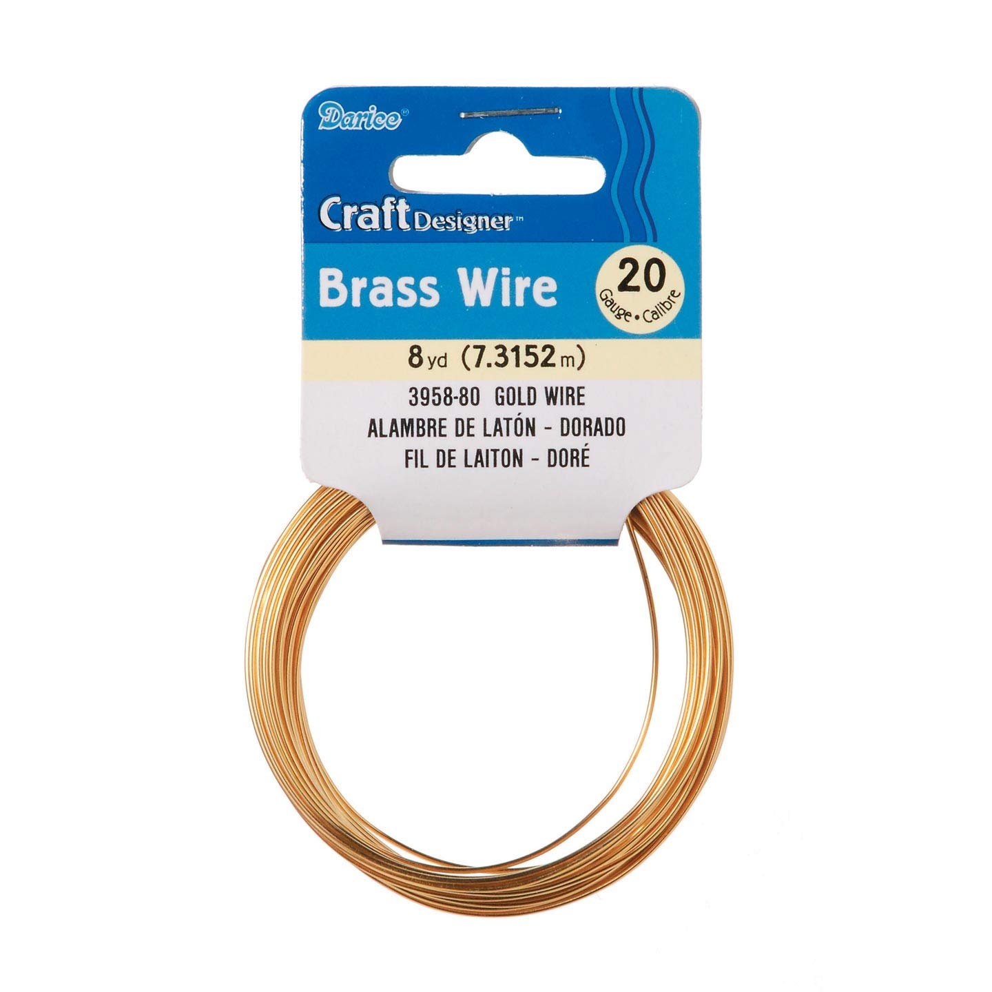 Craft Wire Black 20 Gauge Colored Copper for Jewelry Crafts Darice 8 yards