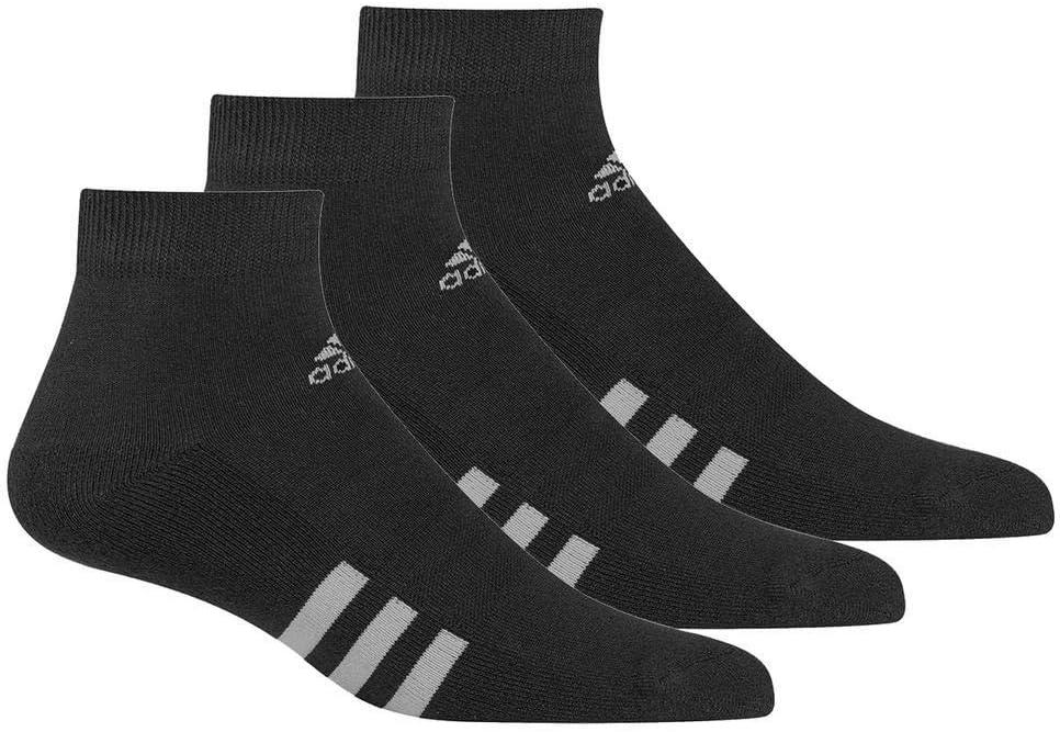 adidas 3-Pack Ankle Calcetines Deportivos, Hombre, Negro (Negro Cf8467), 39/42 (Tamaño del Fabricante:6.5-10): Amazon.es: Deportes y aire libre
