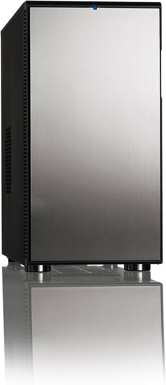 Fractal Design Define R4 - Caja de Ordenador de sobremesa (ATX, 2 x USB 3.0, 2 x USB 3.0), Negro y Gris: Amazon.es: Informática