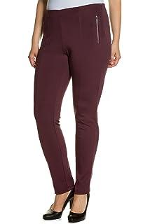 Womens Jean Bi-stretch Avec L'arc-pliage, Pantalons À La Cheville Ulla Popken