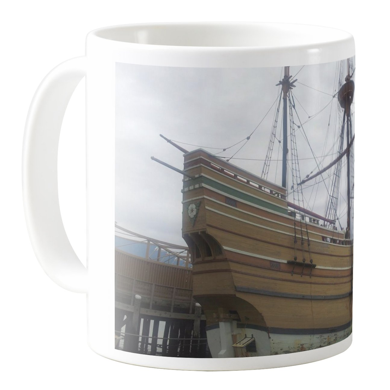 CM11Z-B31185-11oz Ceramic Coffee Mug Tea Cup AquaSakura