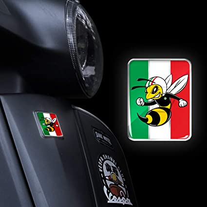 3D Motorcycle Decal MID Panel Logo for PIAGGIO VESPA GTS GTV LX LXV 125 250 300 Ie Super