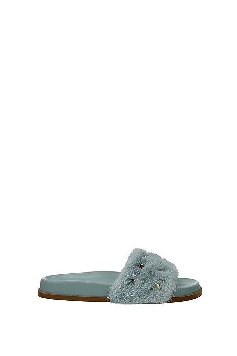 Zapatillas y Zuecos Valentino Garavani Mujer - Pelaje (2S0E10GTSE34) 35 EU