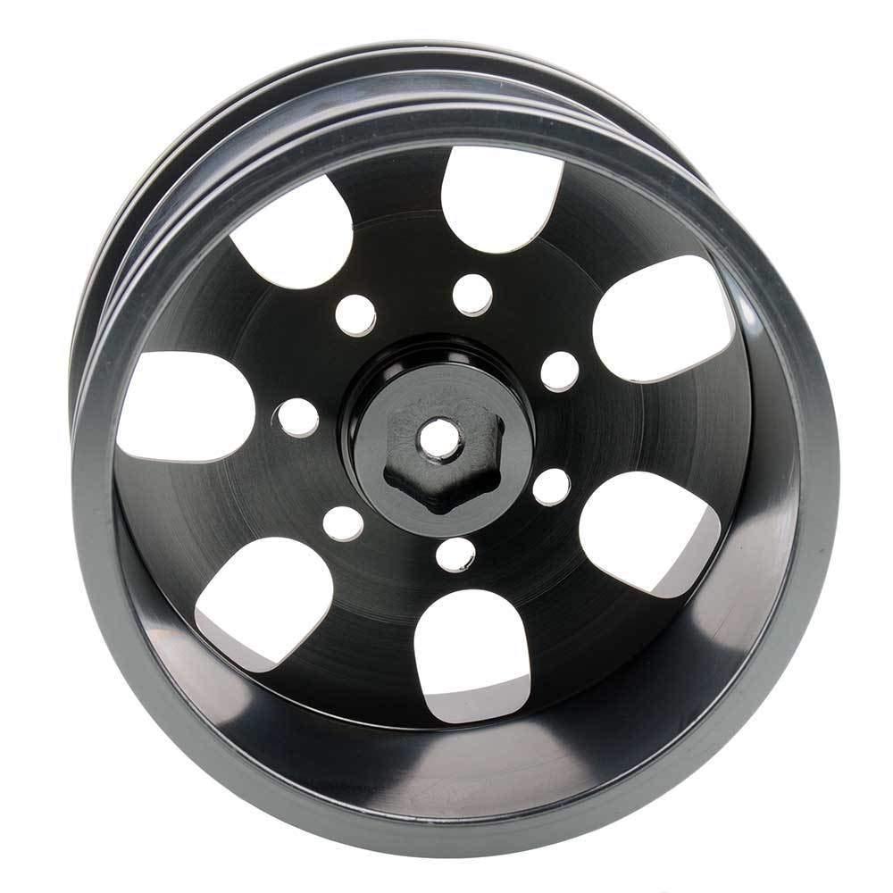 Toyoutdoorparts RC 08008N Alumiunm Gray Wheels 4pcs for RedCat 1:10 Nitro Volcano S30 Truck by Toyoutdoorparts (Image #6)
