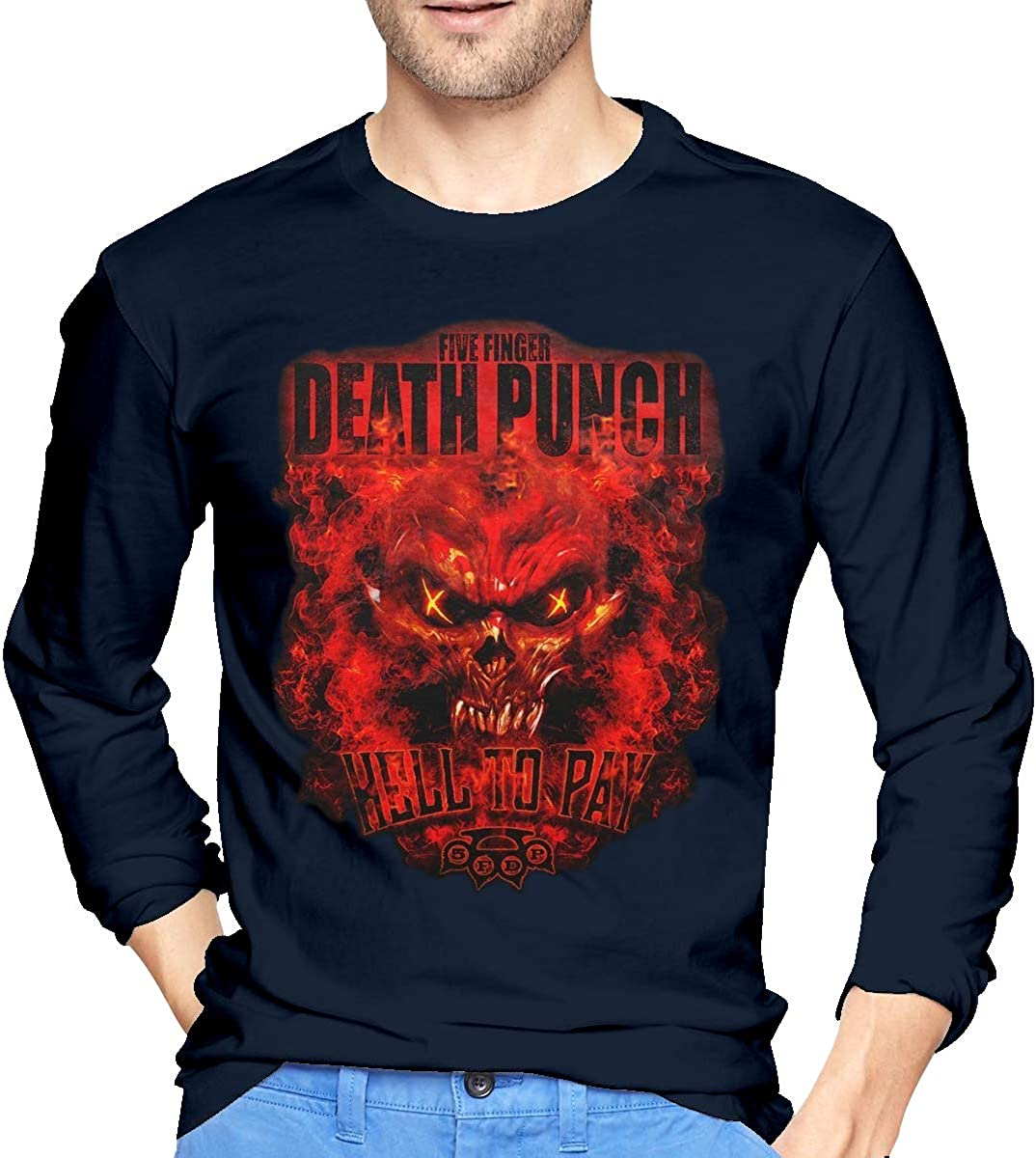 Five Finger Death Punch 5FDP 100/% PURE t shirt Funny Cotton Tee Gift Men