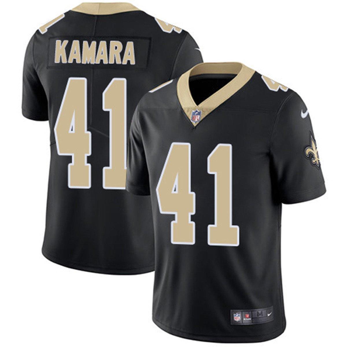 the best attitude aa7ae 671de Amazon.com: NIKE Men's Alvin Kamara 41 New Orleans Saints ...