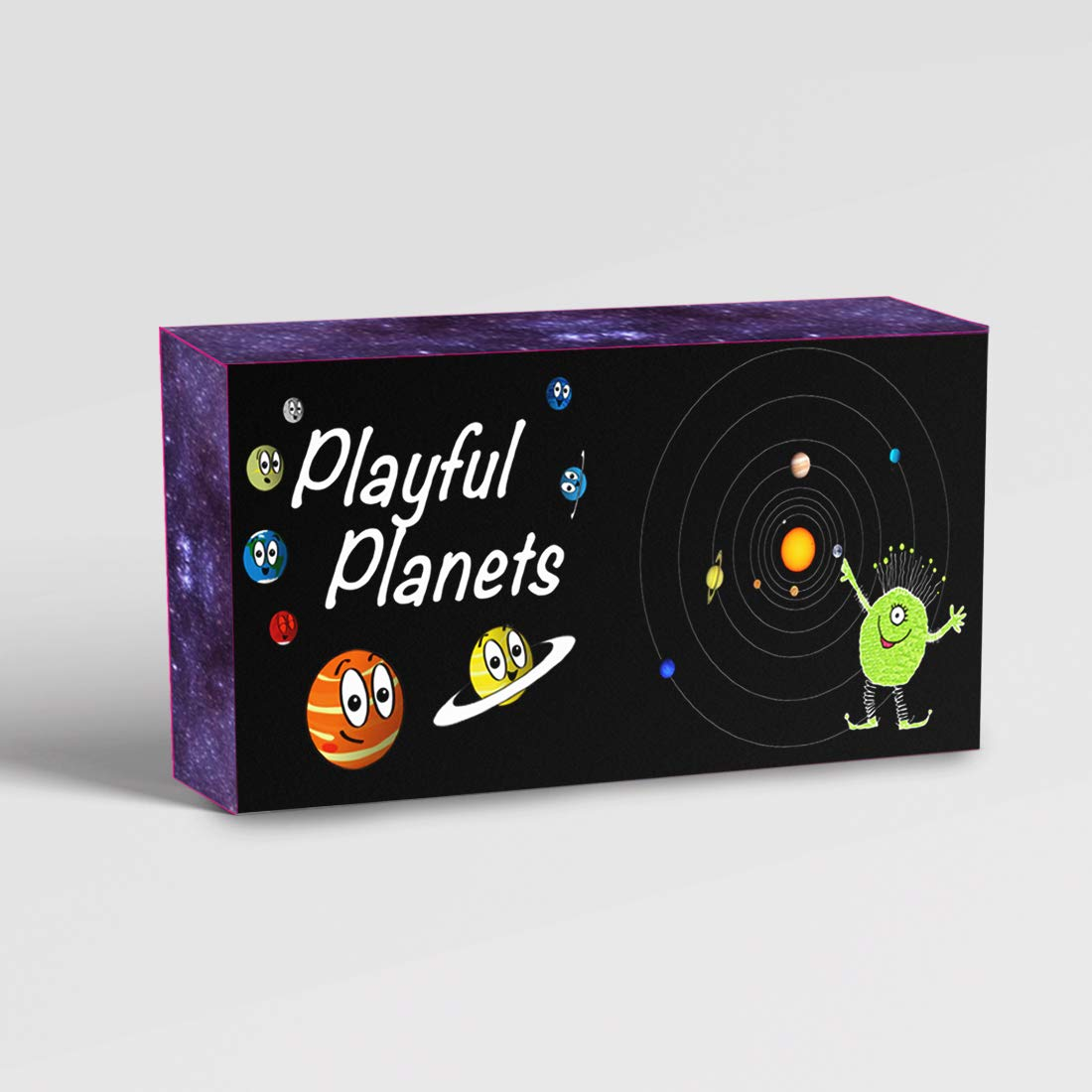 Playful Planets Classic Card Games for Kids and Families - Old Maid, Go Fish, Bingo, Memory with A Planetary Twist - Fun Packed Educational Space Game! 10 Games in 1 Fun Pack! by Playful Planets