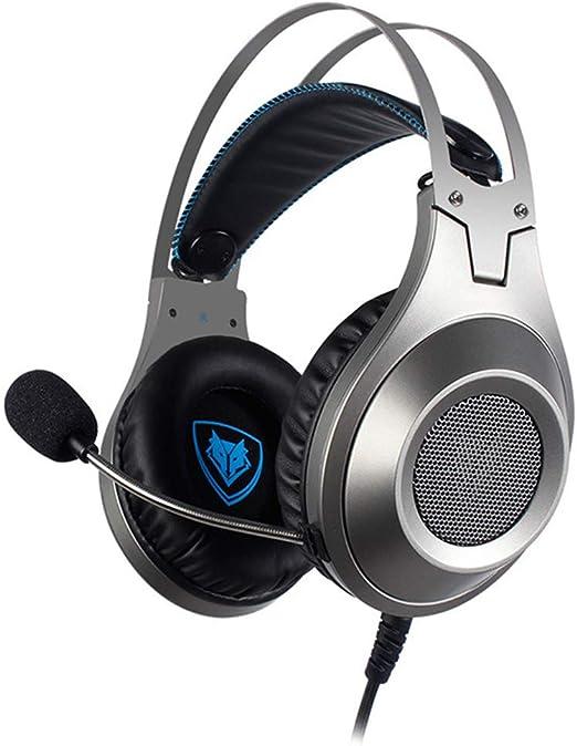 HUIGE Gaming Headset Mic para el Mando PS4, Auriculares estéreo de ...