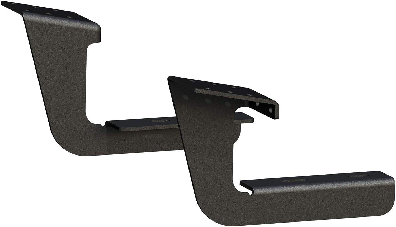2500 3500 LUVERNE 415254-401473 Grip Step Black Aluminum 54-Inch Cargo Van Running Board Passenger-Side for Select Ram ProMaster 1500