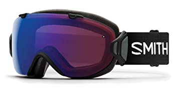 27f7f70836 Amazon.com   Smith Optics I OS Asian Fit Goggle - Women s Black  Frame ChromaPop Photochromic Rose Flash Clear   Sports   Outdoors