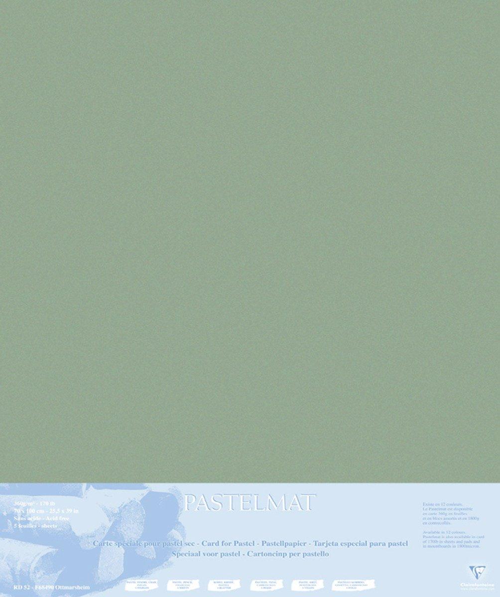 Clairefontaine 96011C Packung (mit 5 Zeichenbögen Pastelmat, 50 x 70 cm, 360 g, ideal für Trockentechniken und Pastell) braun B017NEGOAU | Modisch