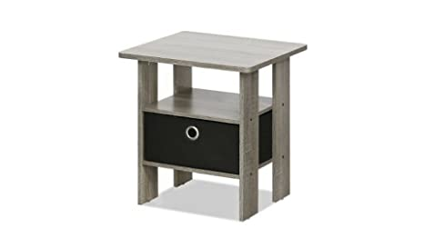 best service 1bfcc 80723 Amazon.com: Petite* End Table Bedroom Nightstand with ...