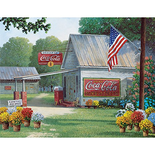 Coca-Cola Country General Store Jigsaw Puzzle 500 Pcs Quaint Coke Soda Ad