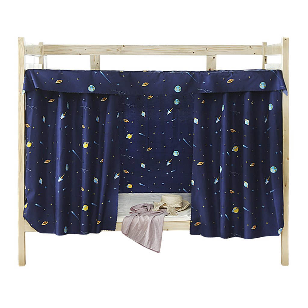 Bed Curtain Bed Canopy Single Sleeper Bunk Bed Privacy Curtain Bedding Tent Black Out Sleep Canopy Sleep Privacy Bed Rack Dorm College Student Dormitory Spread Blackout Mosquito Nets Bedding Curtain