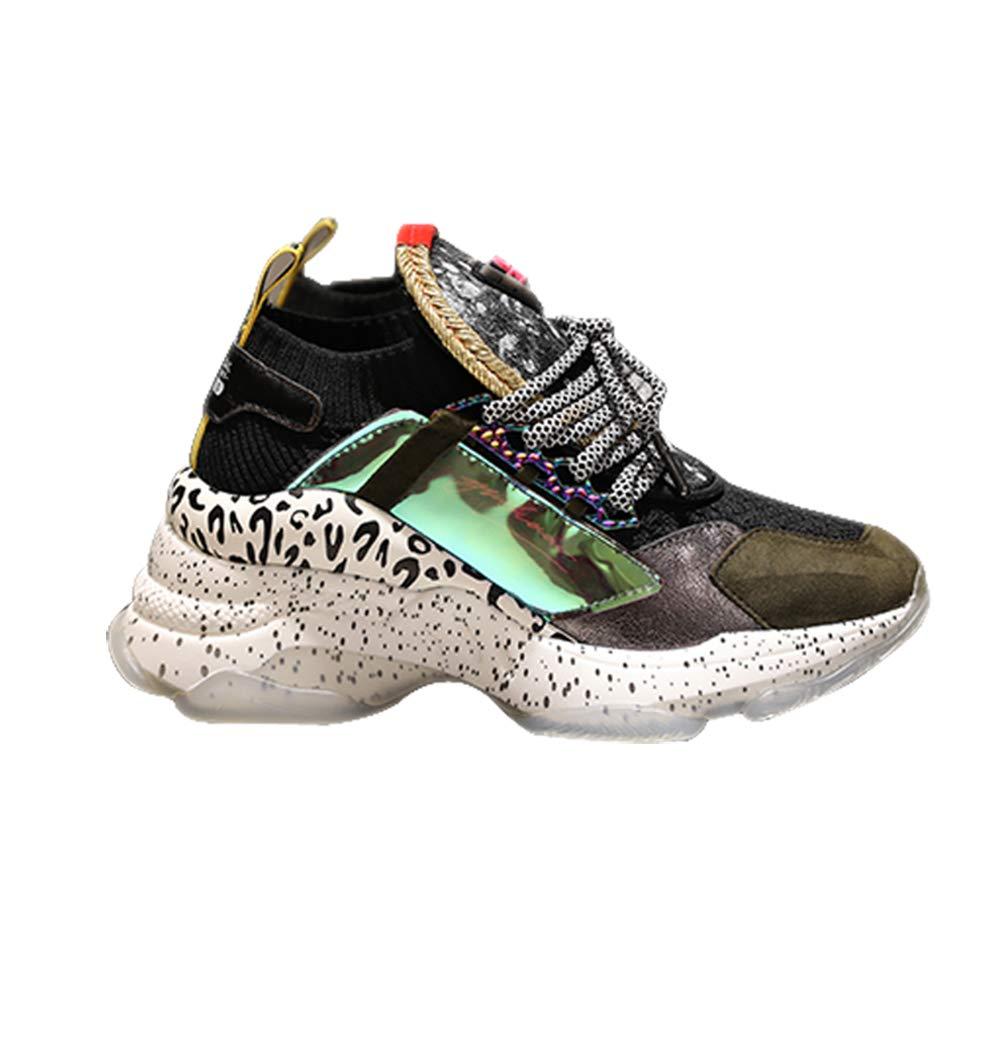 size 40 1bc45 21bc4 scarpe scarpe scarpe da ginnastica da Donna Fondo Spesso ...