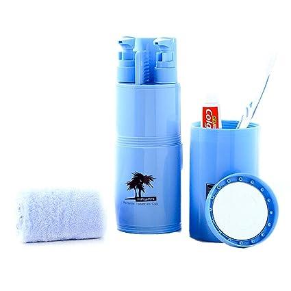 Anne baño easy-store cepillo de dientes para viajes Camping baño cepillo de dientes pasta