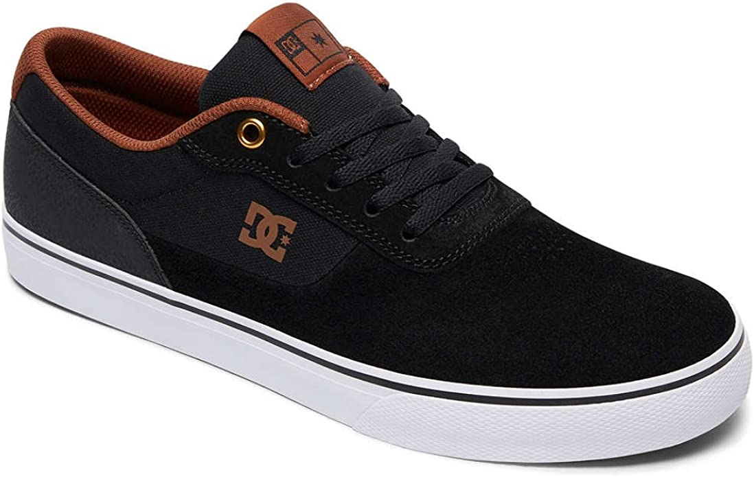 DC Shoes Switch S Sneakers Schwarz/Weiß/Braun