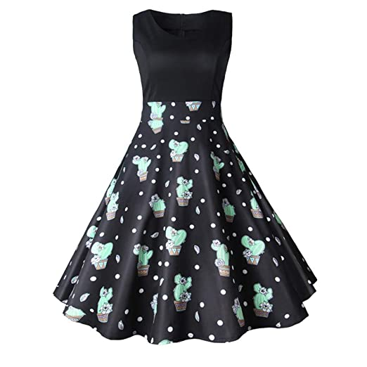 Guolipin Vestido Vestido Retro de la Princesa de la Falda del ...