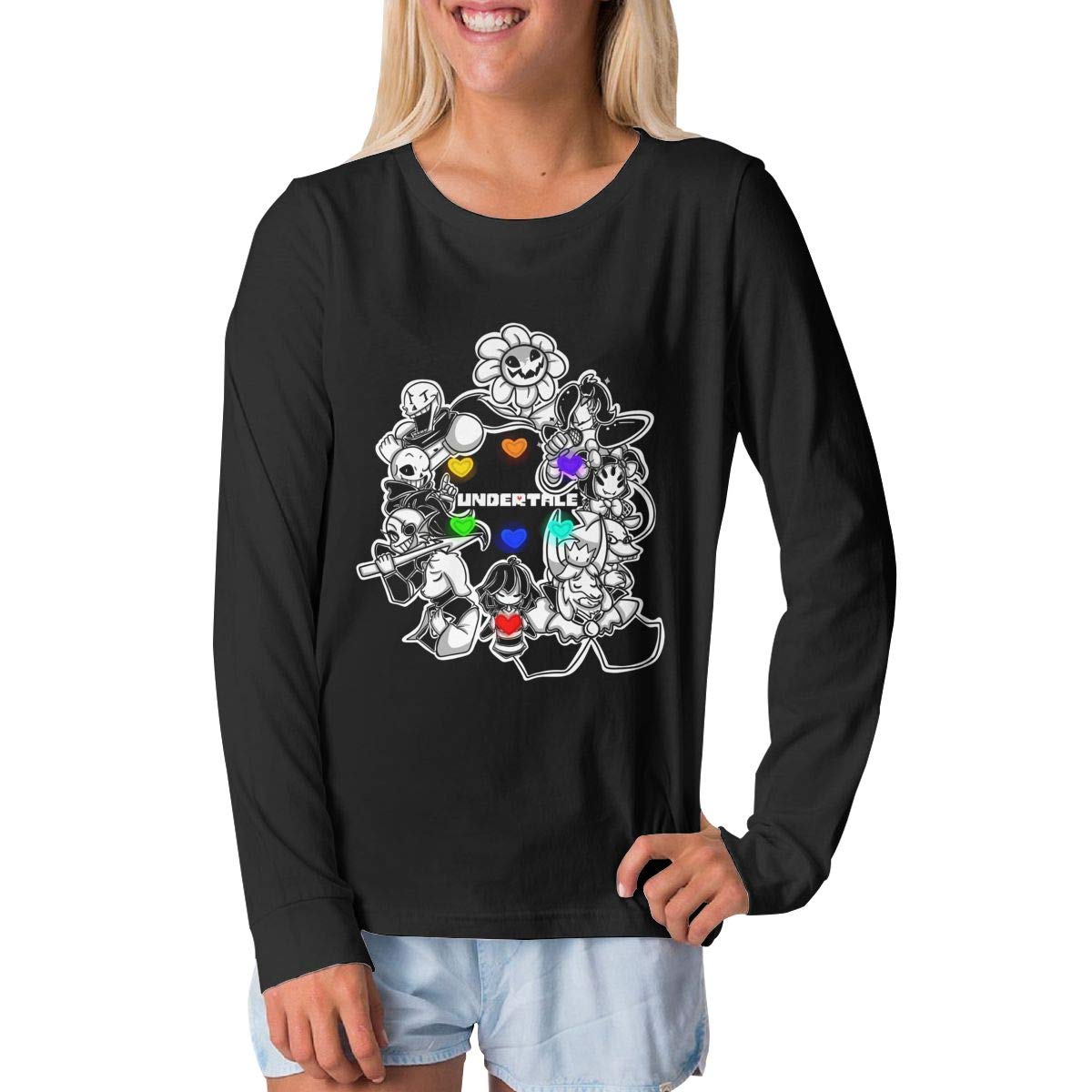 BilliePhillips Youth Undertale Sports Long Sleeve T Shirts