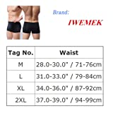 IWEMEK Men's Smooth Ice Silk Boxer Briefs