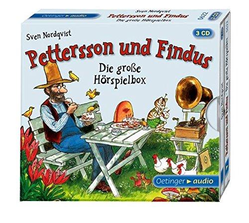 Price comparison product image Die große Hörspielbox von Pettersson und Findus (3 CD)