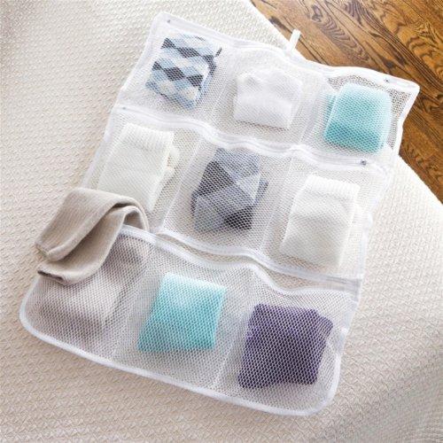 sock pocket holds paired socks