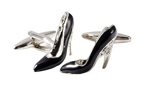 Covink? Las mujeres de las se?oras calzan las mancuernas de la plata del zapato del alto talón con los zapatos del desfile del alto talón del recorte del brillo de la caja de regalo (Rojo) MrwNyZ
