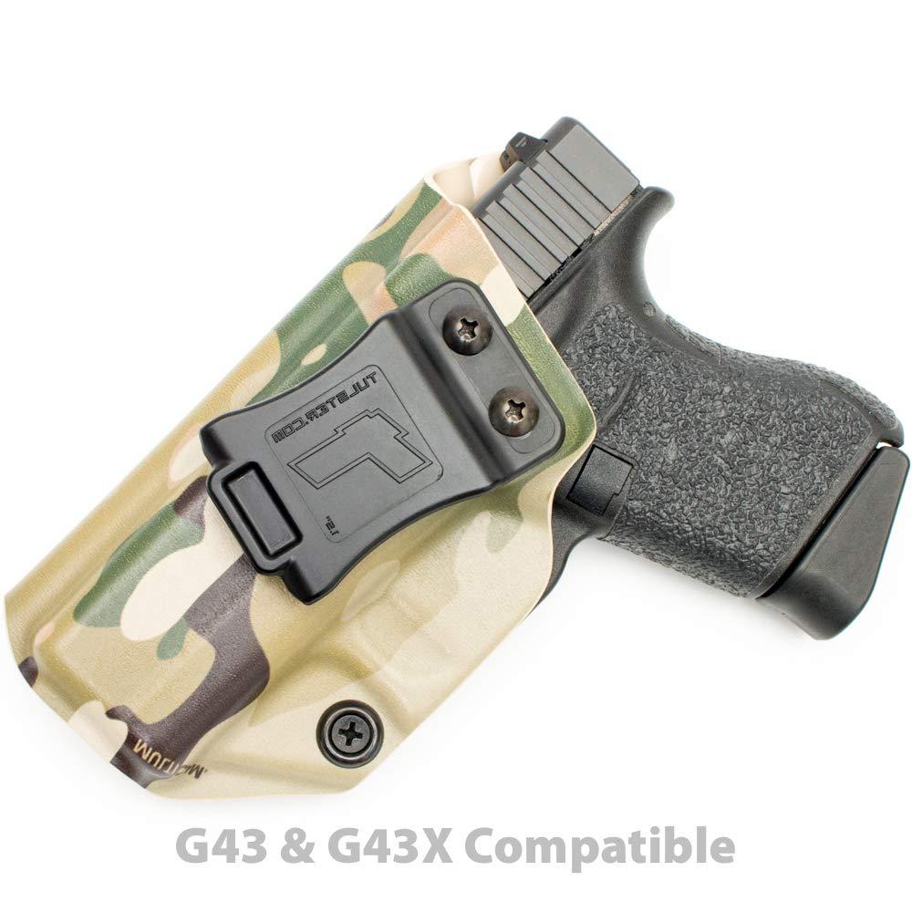 Tulster Glock 43/43X Holster IWB Profile Holster (Multicam - Left Hand)
